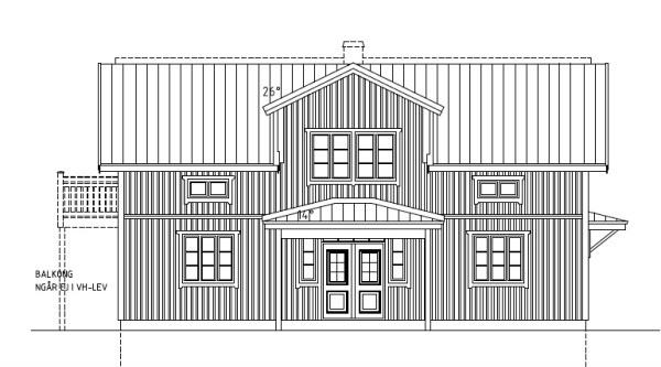 Villa Rosendal Special Fasad framsida