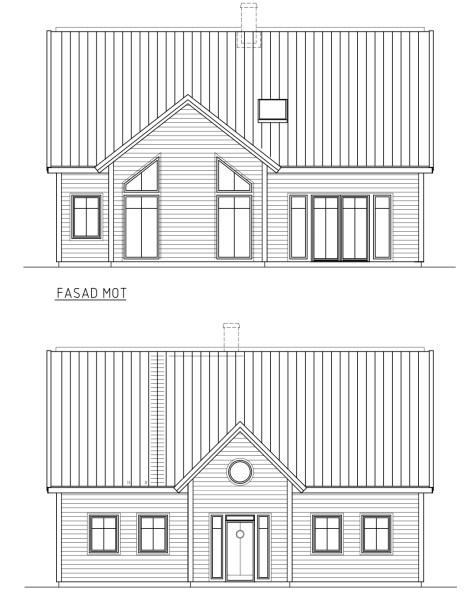 Villa Sjövik-Emyhill hybrid fasad
