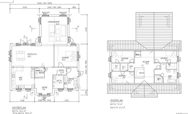 Villa Sjövik-Emyhill hybrid plan