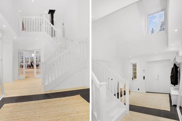 Villa Sjövik trappa