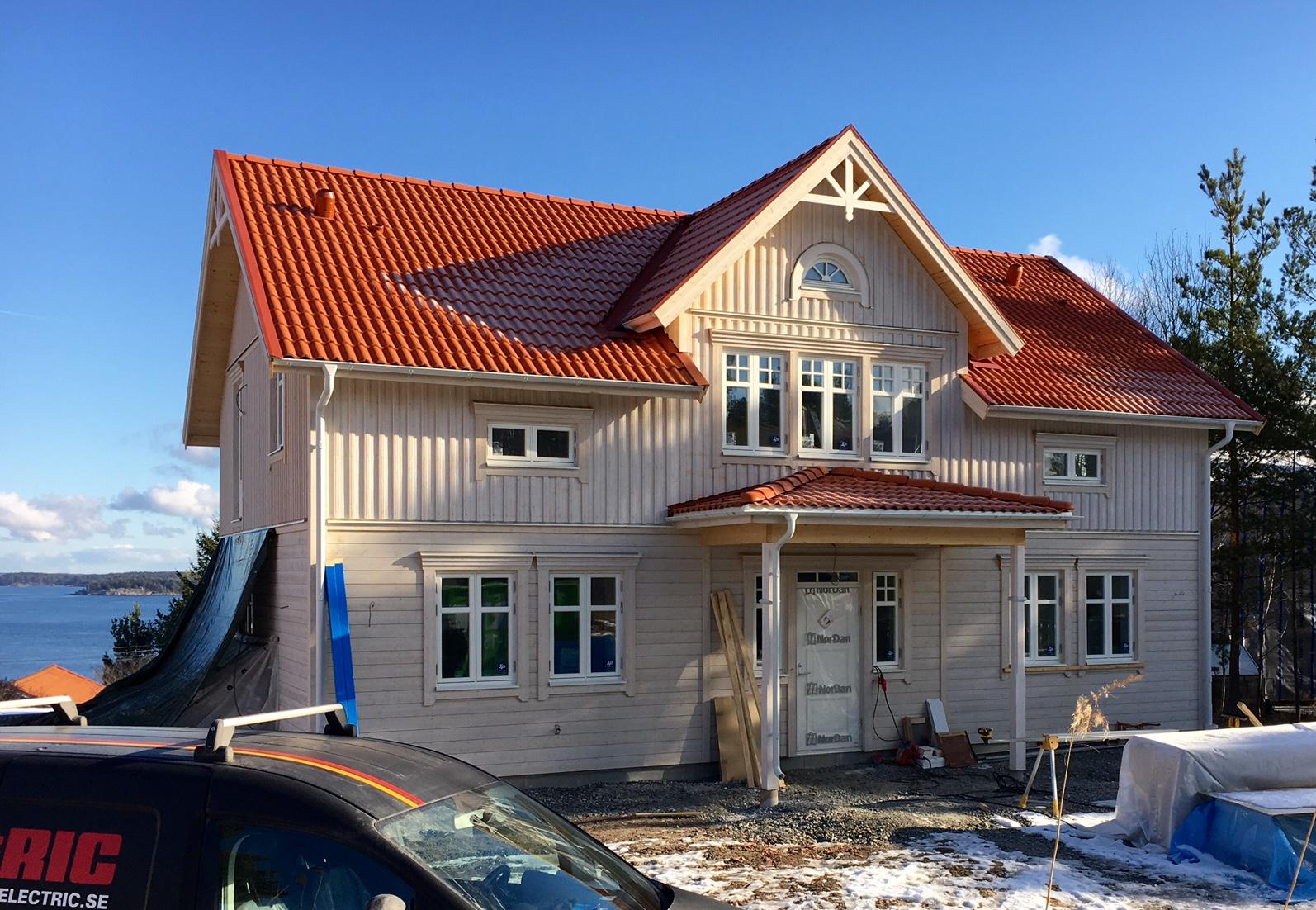 Tillval   VårgårdaHus Stockholm / Västmanland : liggande panel : Inredning